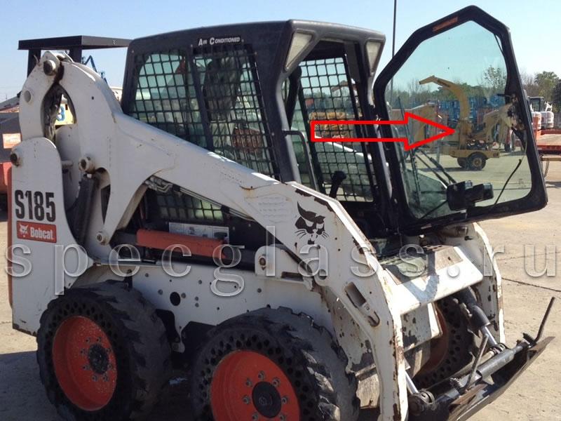 Стекло лобовое для Bobcat S130 / S150 / S160 / S175 / S185 / S205 / S250 / S330