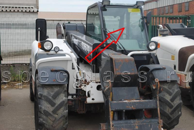 Стекло лобовое для Bobcat T3571 / T3571L