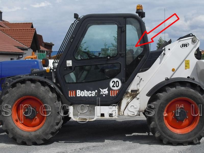 Стекло кузовное левое для Bobcat T3571 / T3571L