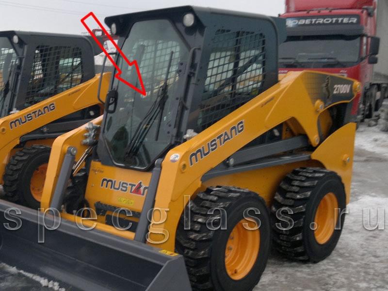 Стекло лобовое для Mustang 1900V / 2400V / 2700V / 3300V / 4000V