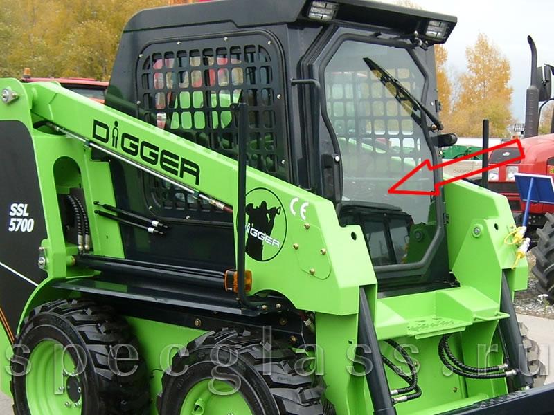 Стекло лобовое для Digger SSL5700