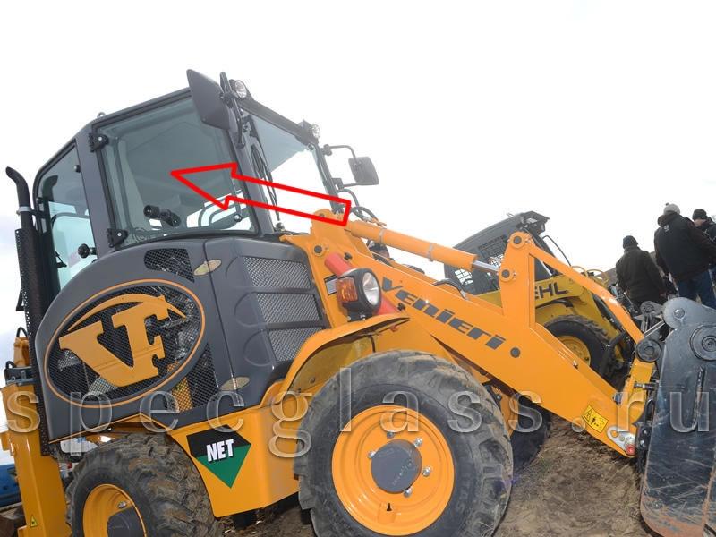 Стекло кузовное правое (переднее) для Venieri VF 1.33B