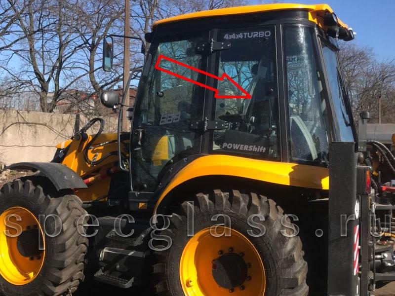 Стекло кузовное левое для ELAZ (Tarsus, Cukurova) BL888  2017- г.в.