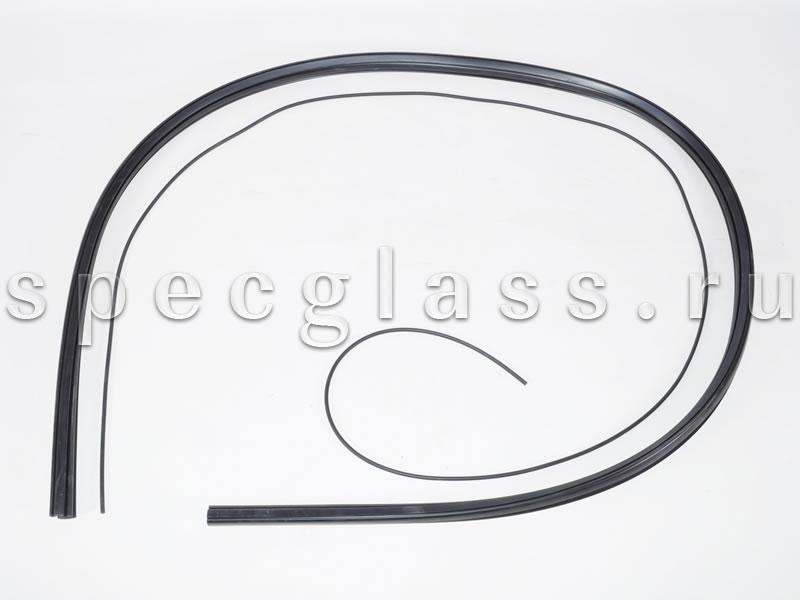 Резинка стекла двери для Bobcat S130 / S150 / S160 / S175 / S185 / S205 / S250 / S330 (6665568)