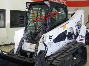 Стекло лобовое для Bobcat T650 / T550 / T590 / T630 / T650H / T750 / T770 / S510 / S530 / S550 / S570 / S590 / S630 / S650 / S750 / S770 / S850 / A770 Россия (сталинит)