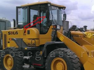 Стекло лобовое правое для SDLG LG936 / LG953 / LG968 / LG936L / LG946L / LG956L / LG953N / LG95X-01