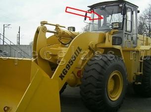 Стекло лобовое для XGMA XG955II