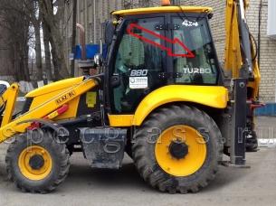 Стекло кузовное левое для ELAZ (Tarsus, Cukurova) BL880  2017- г.в.