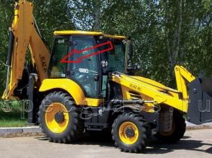 Стекло кузовное правое для ELAZ (Tarsus, Cukurova) BL880  2017- г.в.