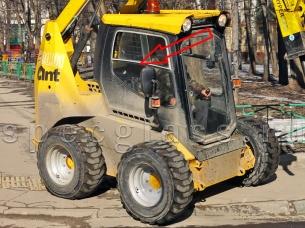 Стекло боковое правое (в сборе) для ANT 1000 2011- г.в.