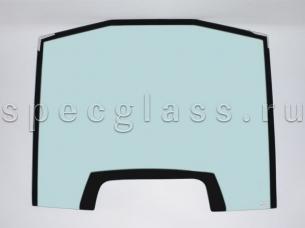Стекло лобовое верхнее с шелкографией (триплекс) для Volvo BL61/BL71 2009- г.в.
