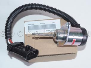 Соленоид отсечки топлива (стоячночный тормоз) для Bobcat (6691498)