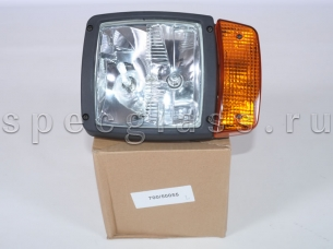 Фара основного света с поворотником для JCB (700/50055)