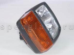 Фара основного света с поворотником для JCB (700/50121)