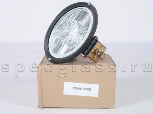 Фара рабочего освещения овальная для JCB (700/G6320)