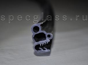 Уплотнитель стекла двери для Bobcat T650 / T550 / T590 / T630 / T650H / T750 / T770 / S510 / S530 / S550 / S570 / S590 / S630 /